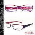 ミクリ mikli アランミクリ メガネ 眼鏡 レッド パープル PUR-05 M0727 COL04 メタルフレーム alain mikli サングラス メンズ レディース あす楽 (SS20)