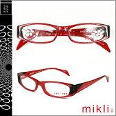 ミクリ mikli アランミクリ メガネ 眼鏡 レッド BKRD-17 M0805 COL03 セルフレーム alain mikli サングラス メンズ レディース あす楽 【SS20】
