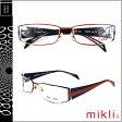 ミクリ mikli アランミクリ メガネ 眼鏡 レッド マルチ BKRD-28 M0853 COL04 メタルフレーム alain mikli サングラス メンズ レディース 【SS20】