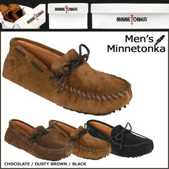 Minnetonka MINNETONKA driving moccasins DRIVING MOC suede men's
