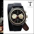 送料無料 トリワ TRIWA × Tarnsjo 腕時計 メンズ レディース レザー 新作 DCAC 108 ブラック×ゴールド EBONY TWIST GOLD BRASCO CHRONO ユニセックス [ 正規 あす楽 ]