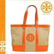 [SOLD OUT]送料無料 トリーバーチ TORY BURCH トートバッグ [ナチュラル×トリーオレンジ] 19129578 SMALL STRAW SADDLE JANE TOTE ストロー レディース NATURAL TORY ORANGE トリバーチ TORYBURCH [ 正規 あす楽 ]