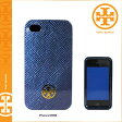 [SOLD OUT]送料無料 トリーバーチ TORY BURCH アイフォンケース [フレンチネイビー] 32129100 HARD SHELL CASE iPhone4 4S対応 シェル レディース メンズ FRENCH NAVY トリバーチ TORYBURCH [ 正規 あす楽 ]