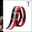 トリワ TRIWA 専用ストラップ [ トリコロール ] STNY 106 NATO ナイロン メンズ レディース 新作 ユニセックス [ 正規 あす楽 ]