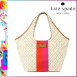[SOLD OUT]送料無料 ケイトスペード kate spade トートバッグ [ スタッコー ] WKRU1507 225 カバン 鞄 キャンバス レディース [ 正規 あす楽 ]