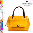 [SOLD OUT]送料無料 ケイトスペード kate spade トートバッグ [ダークマスタード] WKRU1596 725 SHELBY パテントレザー レディース DKMUSTARD [ 正規 あす楽 ]