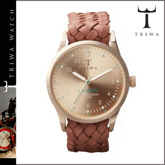 Tri TRIWA watches LAST 101 ROSE LANSEN Tarnsjo leather mens Womens 2013-new