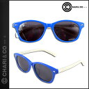 送料無料 チャリ&コー Chari&Co NYC サングラス [ ブルー × ブラック ] SUNGLASSES 眼鏡 メガネ メンズ [ 正規 あす楽 ] 10P02Mar14