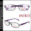 アランミクリ alain mikli メガネ 眼鏡 ブラック パープル ML1040 0004 メタルフレーム サングラス メンズ レディース [S50]
