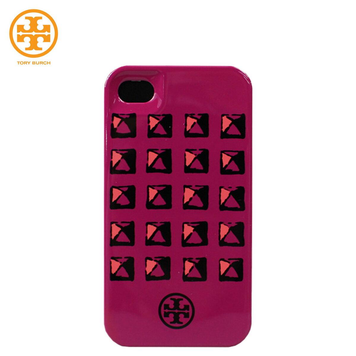 トリーバーチ トリバーチ TORY BURCH iPhone4 4S ケース 41129069 662 ロイヤル フューシャ レディース 【ネコポス可】 【CLEARANCE】【返品不可】
