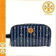 [SOLD OUT]送料無料 トリーバーチ TORY BURCH コスメポーチ [ パリジャンブルー ] 32129199 439 化粧ポーチ レディース [ 正規 あす楽 ]
