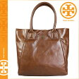 [SOLD OUT]送料無料 トリーバーチ TORY BURCH トート バッグ [ スモークブラウン ] 32129628 207 TOTE 鞄 レディース [ 正規 あす楽 ]