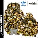 送料無料 アディダス adidas ジェレミー スコット Jeremy Scott ダウン ジャケット [ ゴールド ] DOWN JACKET フード メンズ [ 正規 あす楽 ]【30】 【父の日】