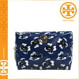 [SOLD OUT]送料無料 トリーバーチ TORY BURCH コスメ ポーチ [ ウィンタースカイ ] 90009175 407 COSME 化粧ポーチ レディース [ 正規 あす楽 ]