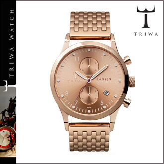 Men's women's LCST104 ROSE LANSEN CHRONO watches TRIWA Tri