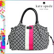 [SOLD OUT]送料無料 ケイトスペード kate spade マザーズ トート バッグ [ ブラック × クリーム ] WKRU 1523 017 TOTE レディース [ 正規 あす楽 ]