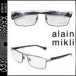 アランミクリ alain mikli メガネ 眼鏡 ホワイト ブラック メタルフレーム メンズ レディース あす楽 [s20]