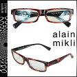 アランミクリ alain mikli メガネ 眼鏡 セルフレーム AL1154-B052 ブラック レッド メンズ レディース あす楽 [s20]