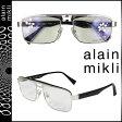 アランミクリ alain mikli メガネ 眼鏡 ブラック メタルフレーム メンズ レディース あす楽 (SS20)