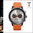 送料無料 トリワ TRIWA 腕時計 メンズ レディース ウォッチ 時計 レザー 2014年 新作 NEAC102-O シルバー × オレンジ HAVANA ORANGE NEVIL ユニセックス [ 正規 あす楽 ]