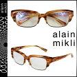 アランミクリ alain mikli メガネ 眼鏡 セルフレーム AL1193-3028 ブラウン メンズ レディース あす楽 [s20]