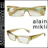 アランミクリ alain mikli メガネ 眼鏡 セルフレーム AL1211-0192 マルチカラー メンズ レディース
