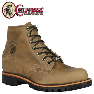 Chippewa CHIPPEWA 20082 6 inch work boots 6INCH LACE-UP RODEO D wise leather men's