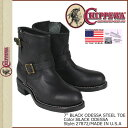 27872  /CHIPPEWA/ engineer boots [black] / BLACK ODESSA STEEL TOE /D Wise /E Wise /EE Wise / leather / man and woman combined uses [authorized tomorrow comfortable /] [Father's Day]