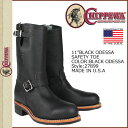 27899  /CHIPPEWA/ engineer boots [black] / 11INCH BLACK ODESSA SAFETY TOE /D Wise /E Wise / leather / man and woman combined uses [authorized tomorrow comfortable /] [Father's Day]
