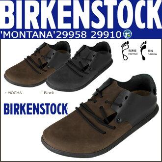 Birkenstock-BIRKENSTOCK Montana MONTANA black Mocha 299581 299583 299101 299103 men's women's sandals