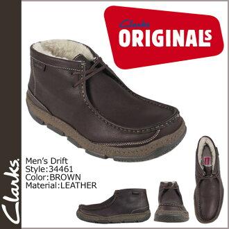 Clarks originals Clarks ORIGINALS drift boots 34461 Drift LEATHER Brown