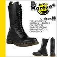 送料無料 ドクターマーチン Dr.Martens 1914 14ホール ブーツ WOMENS スムースレザー レディース メンズ R11856001 ブラック [ 正規 あす楽 ]