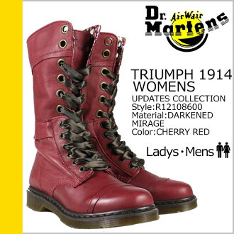 «Reservation products» «10 / 22 when I will be in stock» Martens Dr.Martens work boots R12108600 TRIUMPH 1914 WOMENS Leather Womens mens