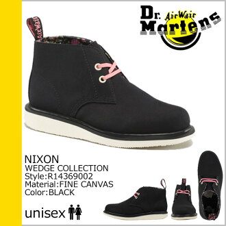 Dr. Martens Dr.Martens 2 Hall desert boots R14369002 NIXON canvas mens ' 4 25 Add in stock]