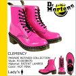送料無料 ドクターマーチン Dr.Martens 8ホール ブーツ [ ホットピンク ] R14638670 CLEMENCY 8EYE BOOT パテント レザー レディース メンズ [ 正規 あす楽 ]
