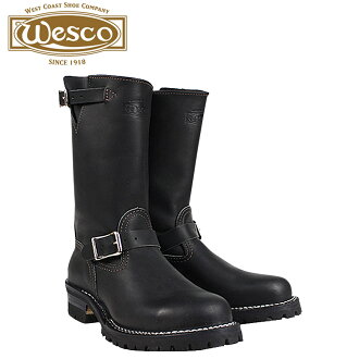 Wesco WESCO 11 inch the boss BK7700100 11INCH THE BOSS STEEL TOE E wise leather mens Wesco Engineer Boots