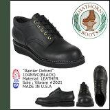 hason HATHORN WHITE'S 靴子 Rainier 牛津鞋[黑]104NWC RAINIER OXFORD E怀斯 皮革男式WHITE'S 靴子 WHITE#0[ ハソーン HATHORN ホワイツ ブーツ レーニア オックスフォード シューズ [ブラック]