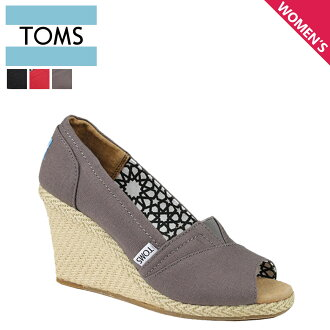 TOMS SHOES Toms shoes wedge sole ladies Sandals 010001B Calypso Canvas Women's Wedges hemp 2013 new Toms Toms shoes