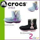 クロックス crocs キッズ ブーツ ムートンブーツ クロッカサリー CROCASALLY 11129 海外正規品 あす楽