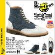 [SOLD OUT]ドクターマーチン Dr.Martens ハリスツイード 6ホール ウイングチップ ブーツ ELLIS R14661101 メンズ レディース
