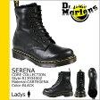 送料無料 ドクターマーチン Dr.Martens 8ホール ブーツ [ ブラック ] R13934002 SERENA レザー レディース [ 正規 あす楽 ]