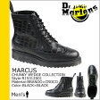 送料無料 ドクターマーチン Dr.Martens 8ホール ウイングチップブーツ [ ブラック×ブラック ] R15312001 MARCUS レザー メンズ [ 正規 あす楽 ]