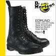 送料無料 ドクターマーチン Dr.Martens 13ホール ブーツ [ ブラック ] R15331001 EDMUND レザー メンズ [ 正規 あす楽 ]