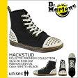 送料無料 ドクターマーチン Dr.Martens 7ホール ブーツ [ ホワイト×ブラック ] R15334102 HACKSTUD ファブリック メンズ レディース ユニセックス [ 正規 あす楽 ]