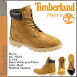 [SOLD OUT]送料無料 ティンバーランド Timberland 6インチ ベーシック ブーツ [ ラスト ] 19076 6inch Basic Boot ヌバック メンズ [ 正規 あす楽 ]