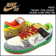 [SOLD OUT]【 訳あり 】 送料無料 ナイキ NIKE DUNK LOW PRO SB WHAT THE DUNK 318403-141 スニーカー ダンク ロー プロ エスビー メンズ [ 正規 あす楽 ]