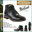 送料無料 アビントン ABINGTON ティンバーランド Timberland × Woolrich ロックマン ブーツ 6754R [ ブラック ] Rockman Boot レザー×ウール メンズ ウールリッチ[ 正規 あす楽 ]