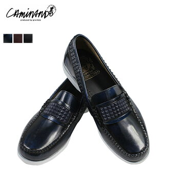 Point 10 times カミナンド CAMINANDO rubber studded loafers on the 3 color RUBBER STUDS LOAFER leather mens 1419 [4 / 19 new in stock] [regular]