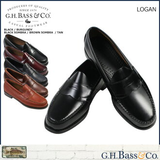 «Reservation products» «around the 10 / 23 stock» ジーエイチバス G... H... BASS penny loafers PENNY LOAFER LOGAN Logan D wise leather mens