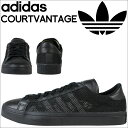 アディダス コートバンテージ adidas Originals スニーカー COURT VANTAGE メンズ S76660 靴 ブラック オリジナルス